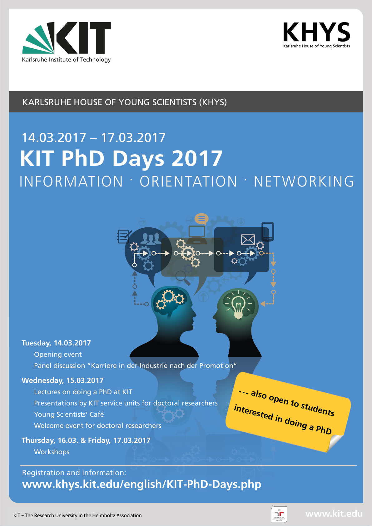 KIT PhD Days